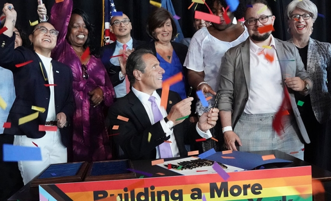 Governor Cuomo Signs the Gender Recognition Act