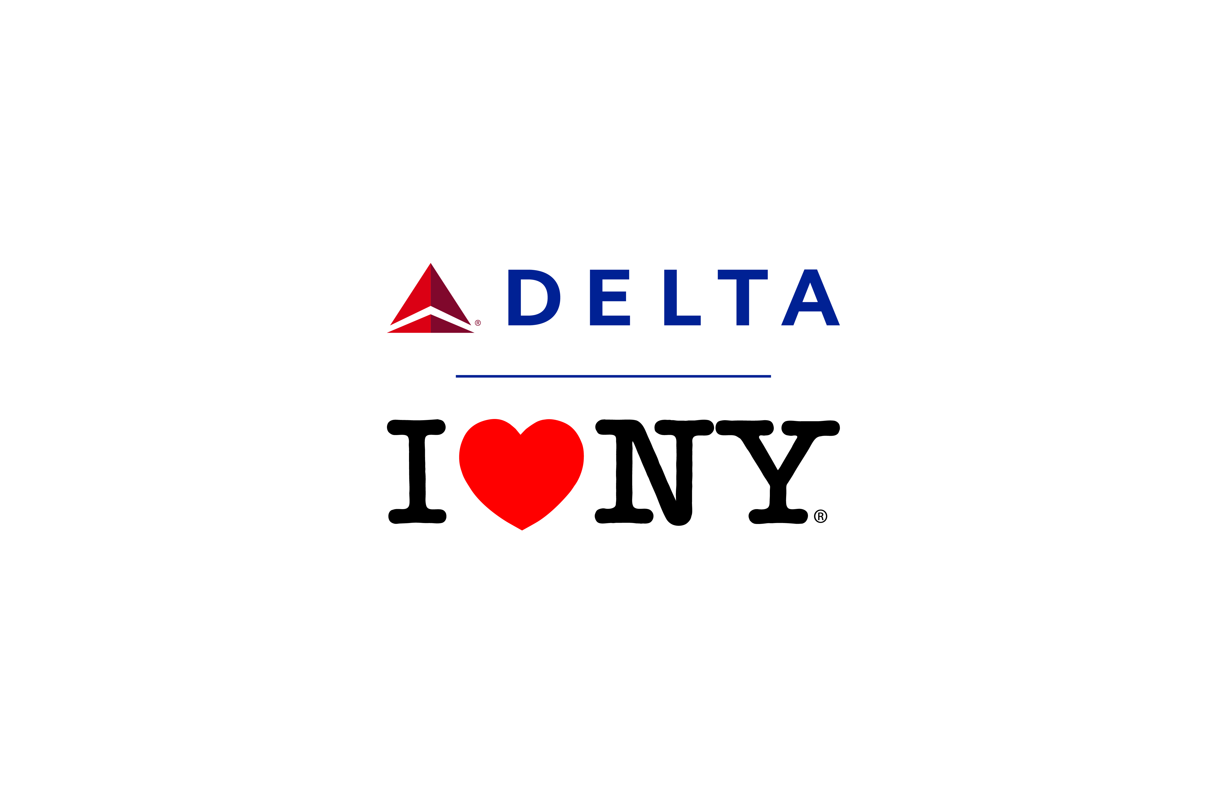 Governor cuomo announces i love new york partnership with delta air view the new co branded logos altavistaventures Gallery