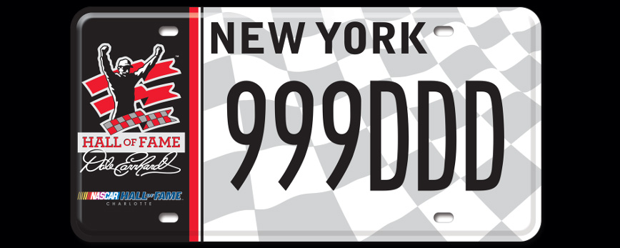 Governor Cuomo Launches Redesigned Nascar License Plates ...