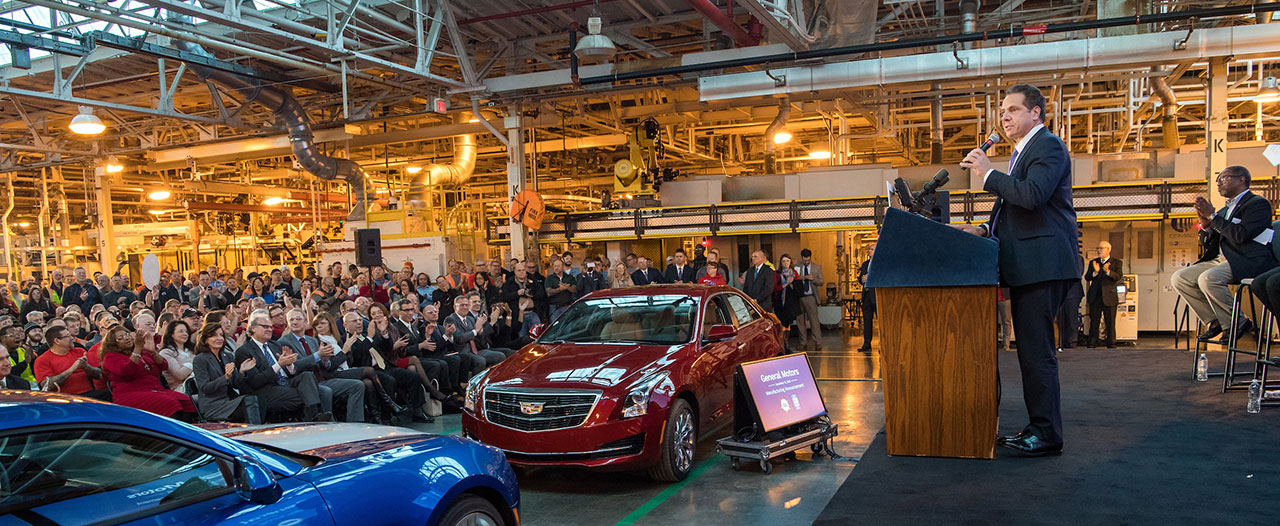 Governor Cuomo Announces General Motors To Invest 334 Million In