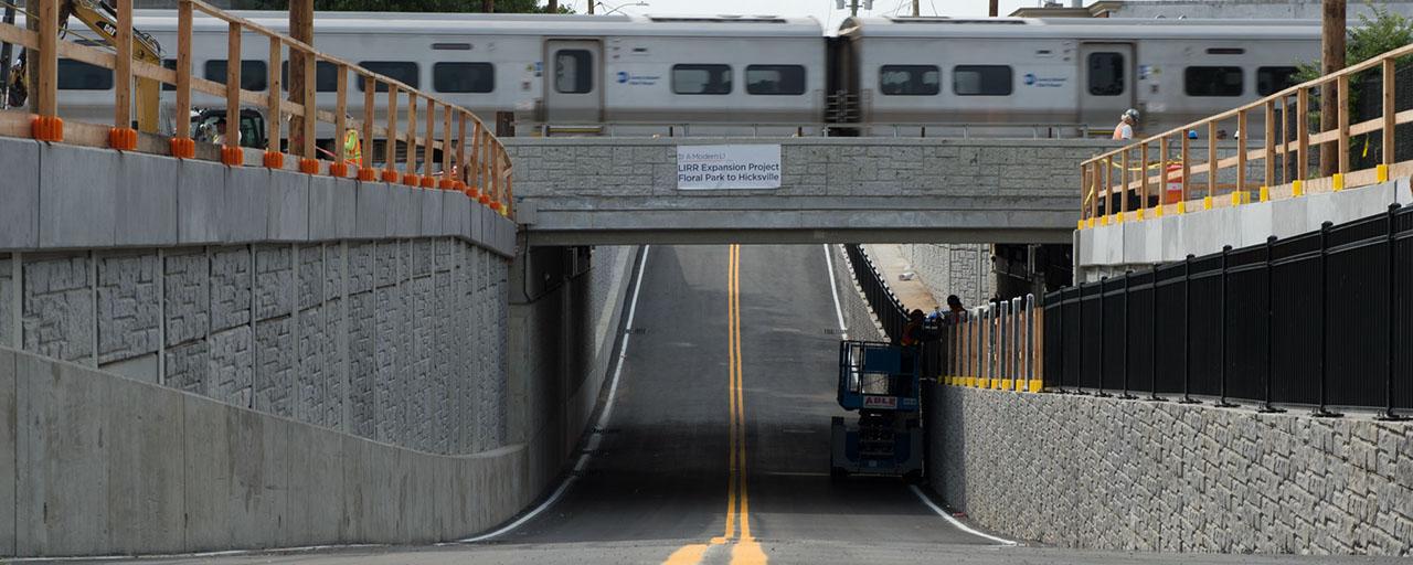 Governor Cuomo Announces First of Eight LIRR Grade Crossings
