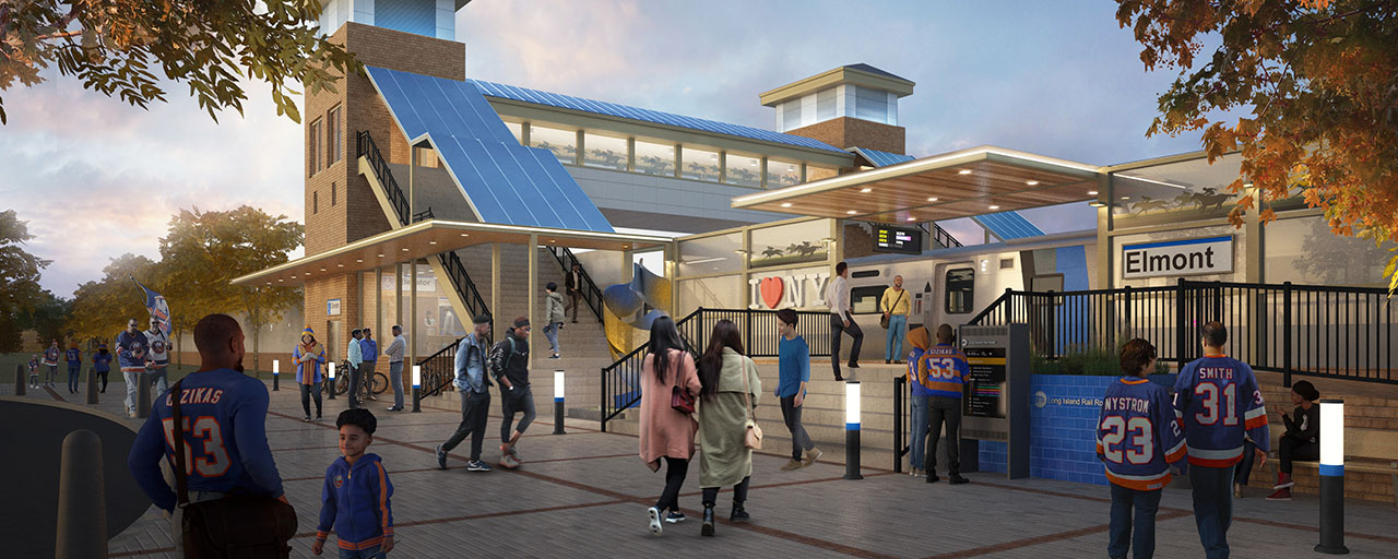 Governor Cuomo Announces New Elmont Train Station The