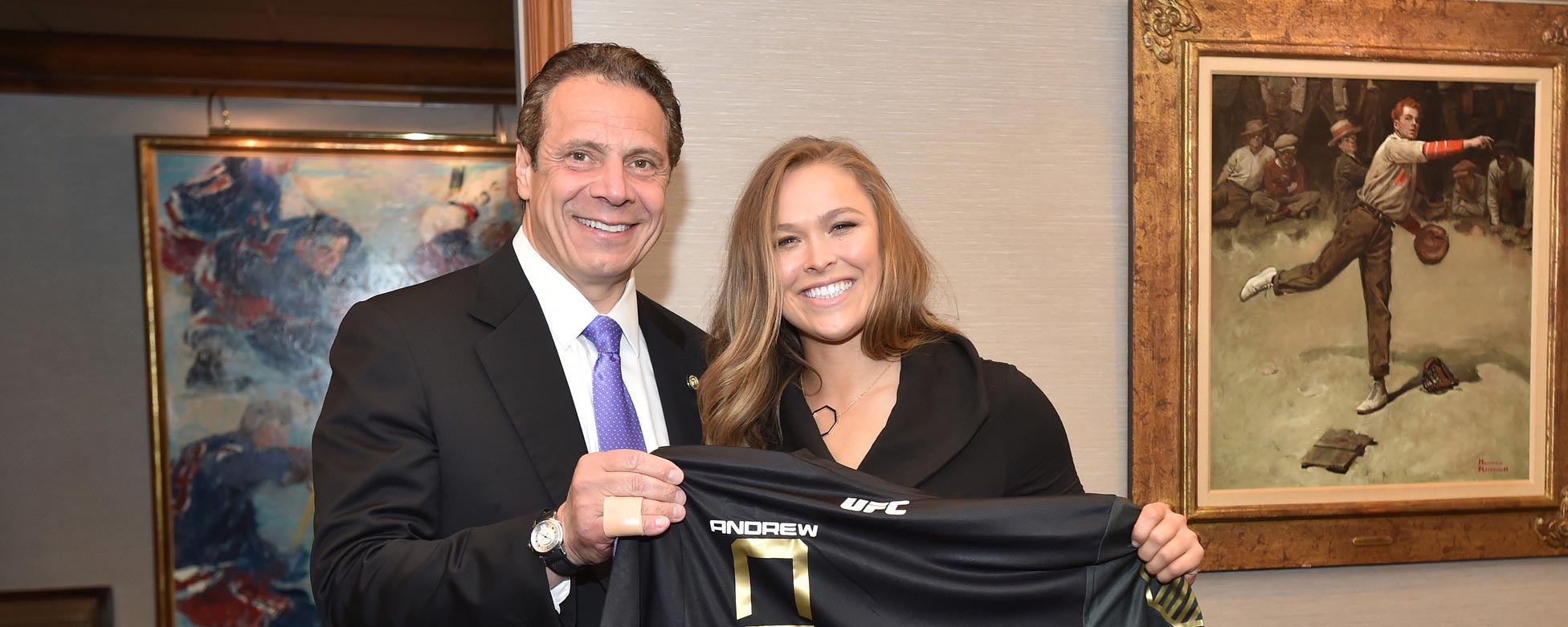 Governor Cuomo Signs Legislation Legalizing Mixed Martial Arts In New York State Governor Andrew M Cuomo