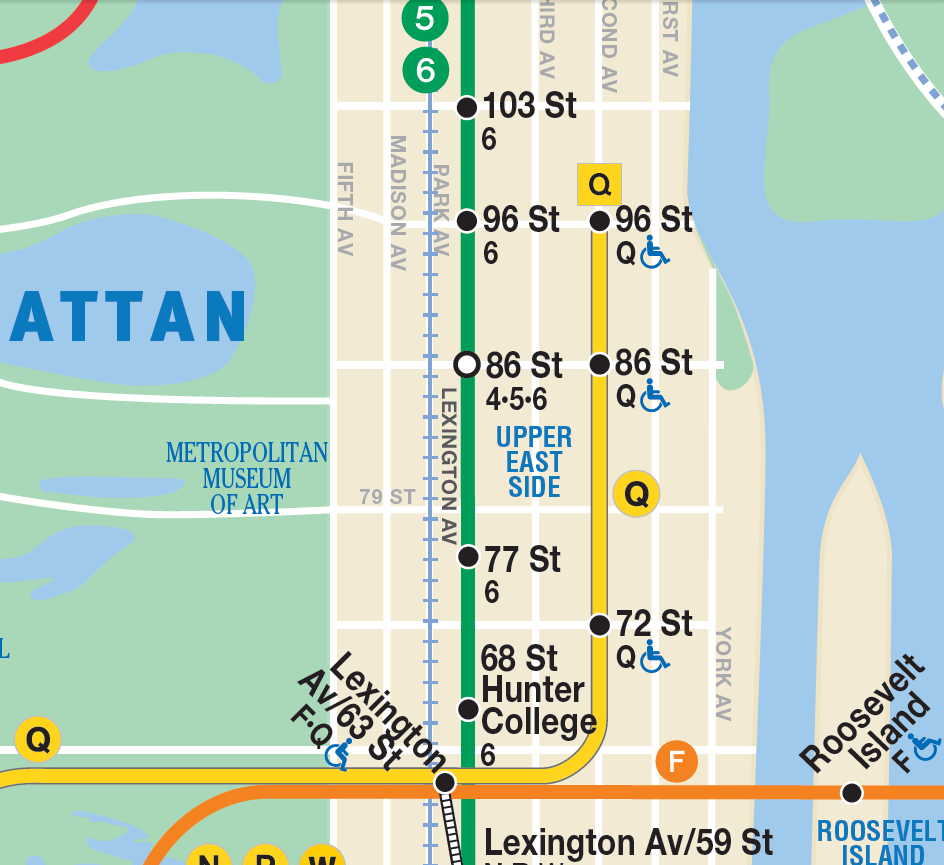 Governor Cuomo Announces Systemwide Installation Of Subway Maps
