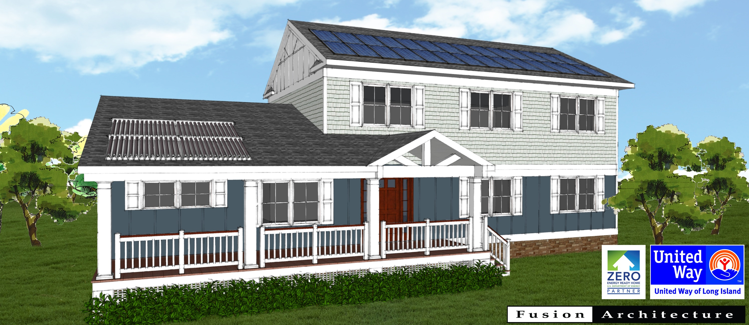 Governor cuomo announces first of its kind energy efficient home built